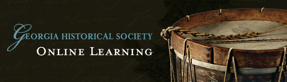 Georgia Historical Society Online Learning